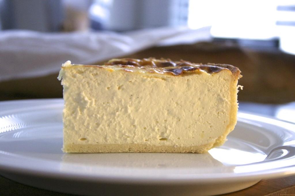 Stück Käsekuchen