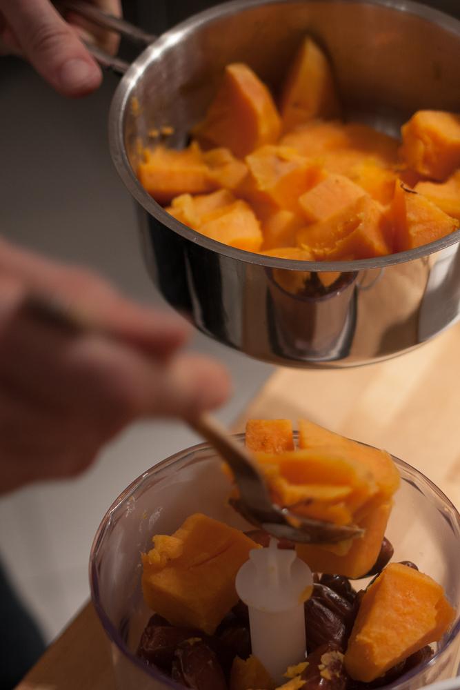 Süßkartoffeln & Datteln