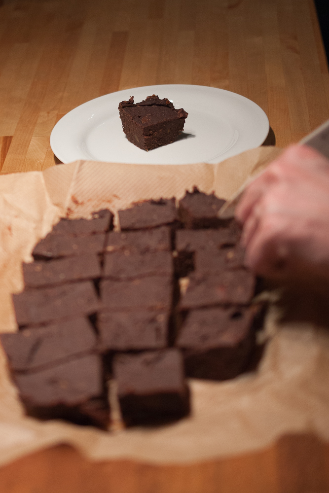 gebackene Brownies