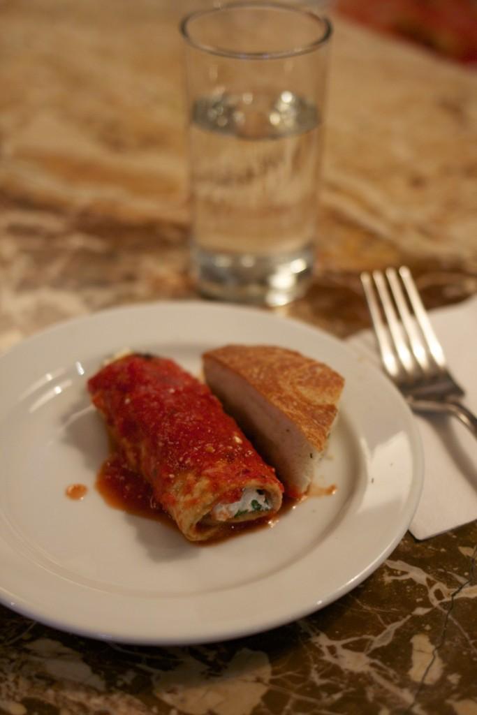 Cannoli aus Auberginen