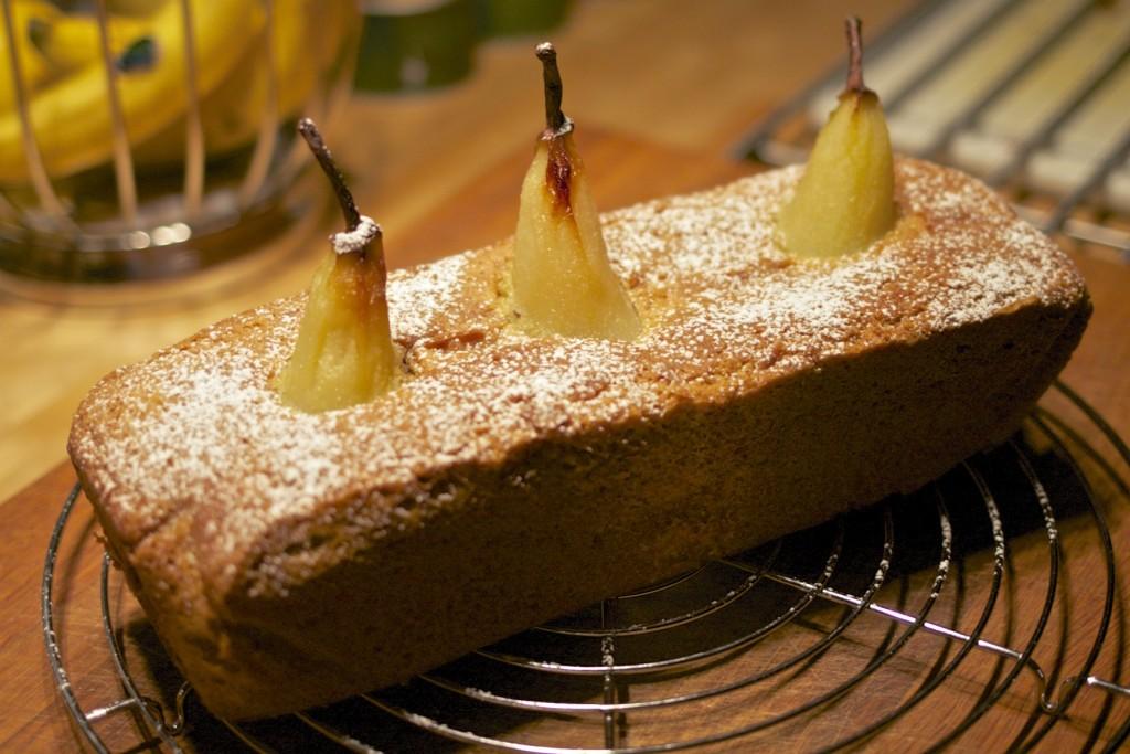 Birnen-Kardamom-Kuchen