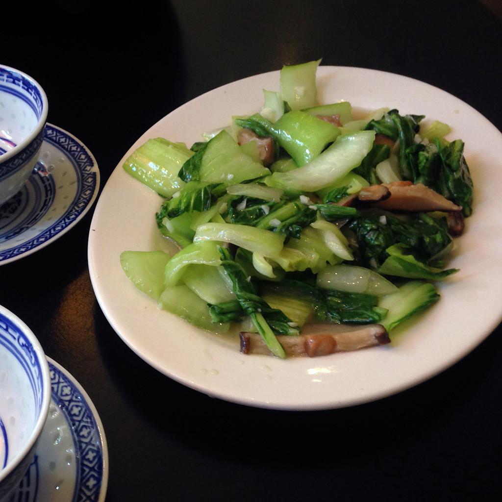 Yangda Karlsruhe Shanghai Baicai mit Pilzen