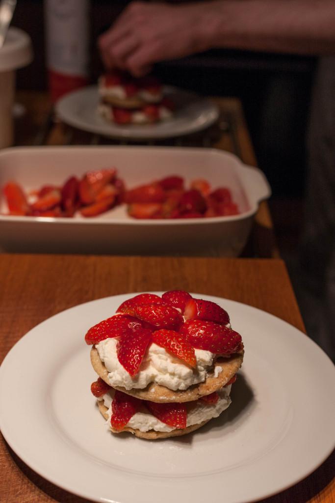 Erdbeertürmchen