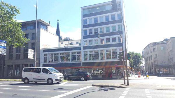 Kölner Kochhaus von der Strasse aus gesehen